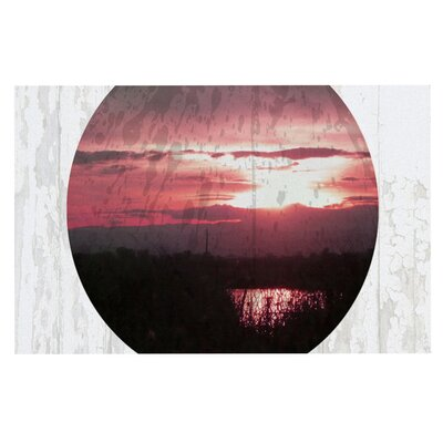Micah Sager Valley Sunset Splatter Doormat