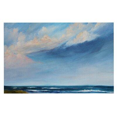 Summer Showers by Rosie Fleece Throw Blanket Size: 80 H x 60 W x 1 D