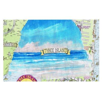 Rosie Tybee Island Ocean View Doormat