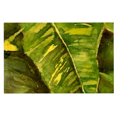 Rosie 'Tropical Garden' Leaf Doormat