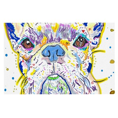 Rebecca Fischer Niko French Bulldog Doormat