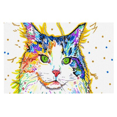 Rebecca Fischer Royal Rainbow Cat Doormat