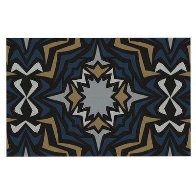 Miranda Mol Winter Fractals Doormat