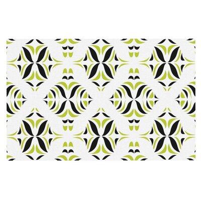 Miranda Mol Lime Rainforest Doormat