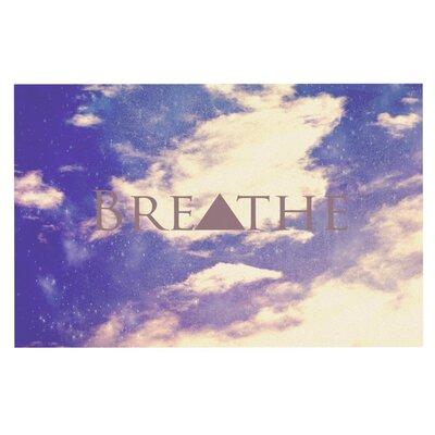 Rachel Burbee 'Breathe' Doormat