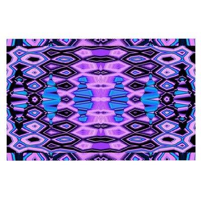 Nina May Deztecca Lilac Doormat