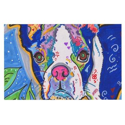 Rebecca Fischer Addy Mae Pug Terrier Doormat