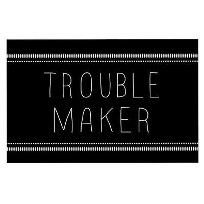 Skye Zambrana Trouble Maker Doormat