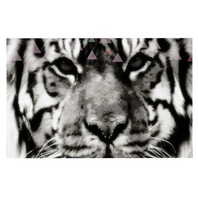 Suzanne Carter Tiger Face Animal Doormat