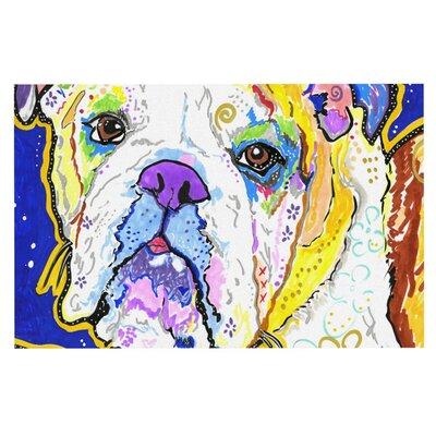 Rebecca Fischer Mavis Bull Dog Doormat