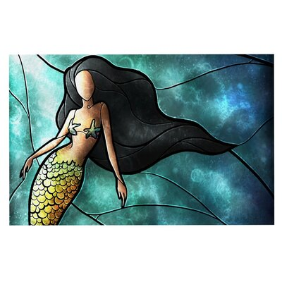 Mandie Manzano Mermaid Doormat