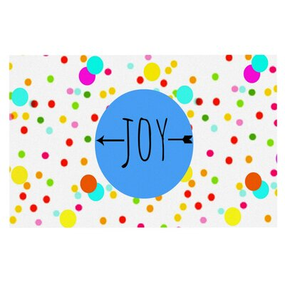 Sreetama Ray Oh Joy Rainbow Doormat