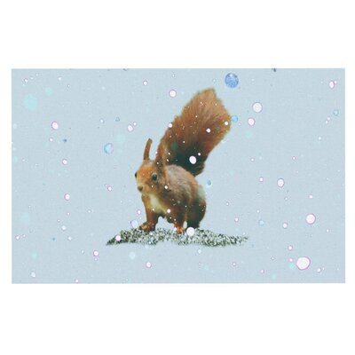 Monika Strigel Squirrel Doormat