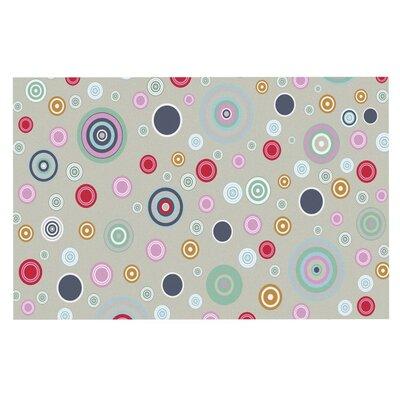 Suzanne Carter Circle Circle Doormat Color: Gray