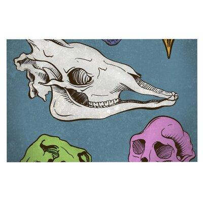 Sophy Tuttle Skulls Doormat