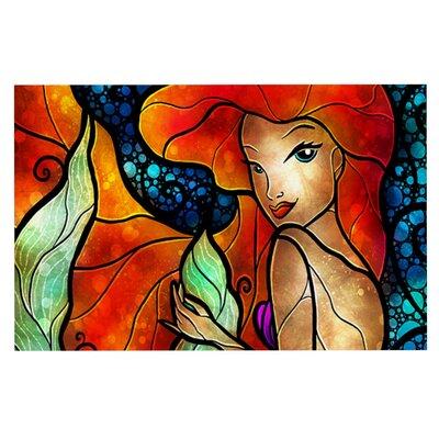 Mandie Manzano Ariel Mermaid Doormat