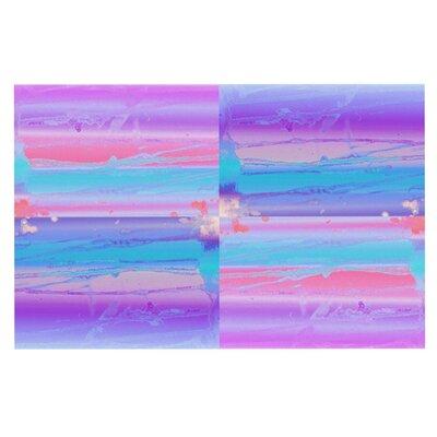 Nina May Drip Dye Paint Pastel Doormat