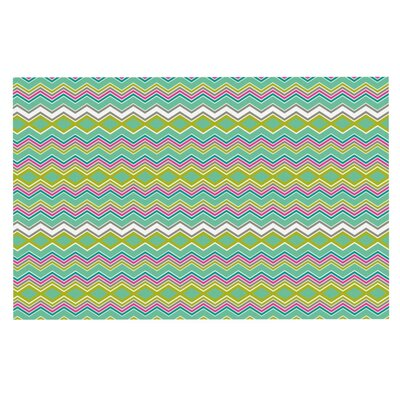 Nicole Ketchum Chevron Love Doormat