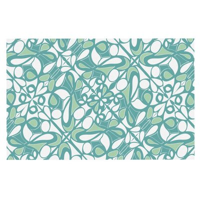 Miranda Mol Swirling Tiles Doormat