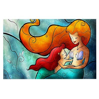 Mandie Manzano 'I Remember Love' Mermaid Doormat