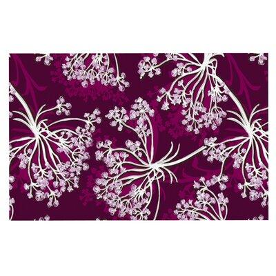 Suzie Tremel Squiggly Floral Doormat