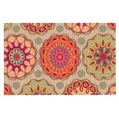 Suzie Tremel Festival Folklore Vintage Floral Doormat