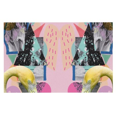 Vasare Nar Flamingo Tropical Doormat