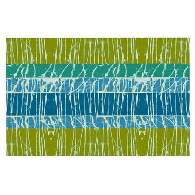 Nina May Ocean Splatter Doormat