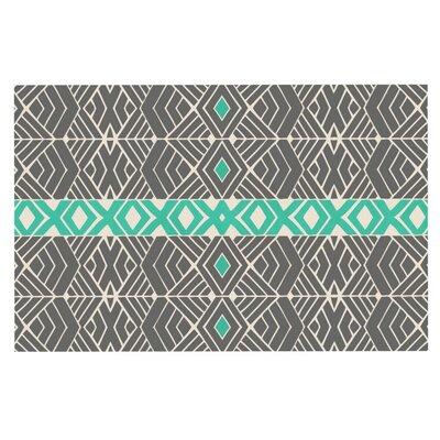 Pom Graphic Design Going Tribal Doormat Color: Gray