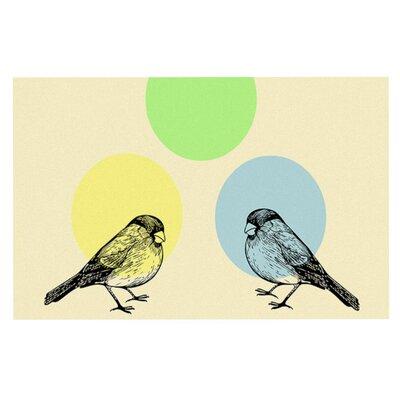 Sreetama Ray Paper Birds Doormat