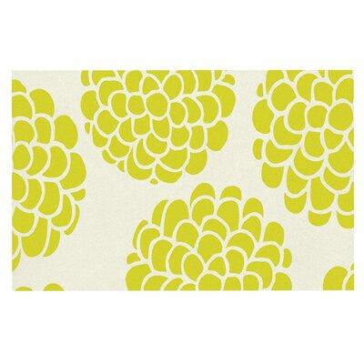Pom Graphic Design Grape Blossoms Circles Doormat