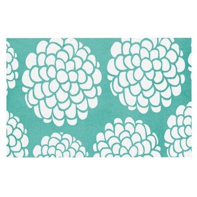 Pom Graphic Design Hydrangeas Blossoms Circles Doormat