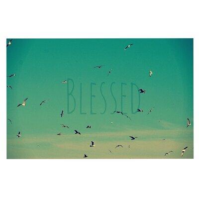 Robin Dickinson Blessed Birds Doormat