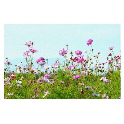 Robin Dickinson I Choose Magic Flowers Doormat