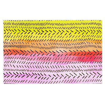 Sreetama Ray Sunshine Warm Paint Doormat