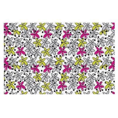 Nandita Singh Floral Spread Doormat