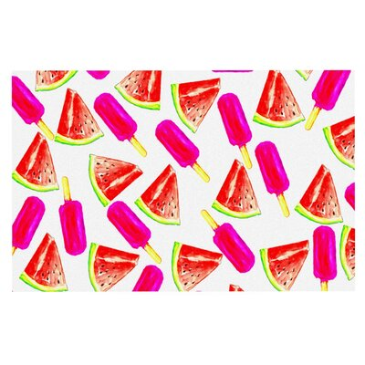 Sreetama Ray Strawberry and Watermelon Doormat