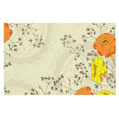 Nandita Singh Flowers and Twigs Doormat