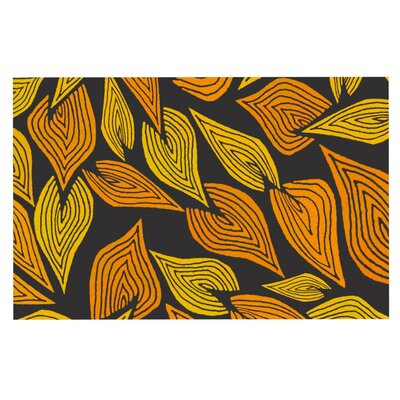 Pom Graphic Design Autumn Doormat Color: Black