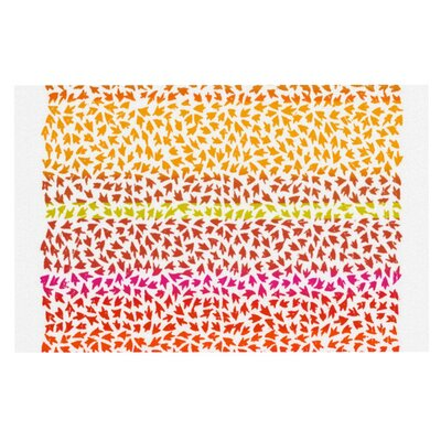 Sreetama Ray Sunset Arrows Abstract Doormat