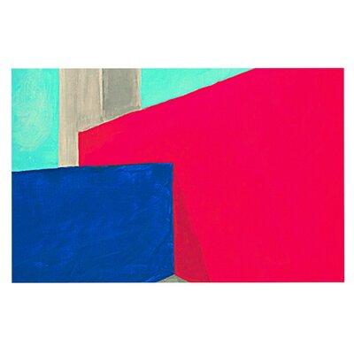 Oriana Cordero Corner Geometry Doormat