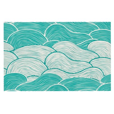 Pom Graphic Design The Calm and Stormy Seas Doormat