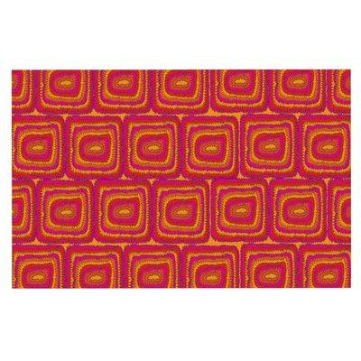 Nandita Singh Bright Squares Doormat