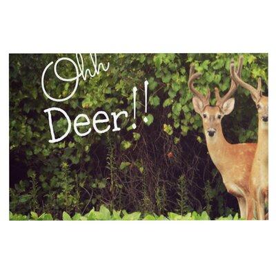 Robin Dickinson Ohh Deer Doormat
