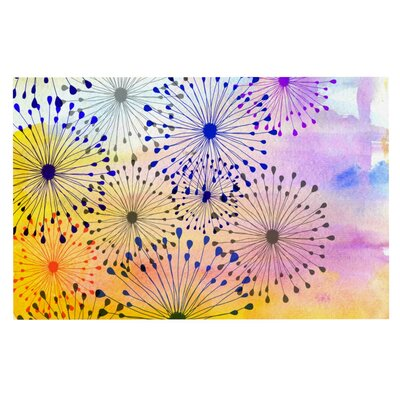 Sreetama Ray Bursting Blossoms Doormat