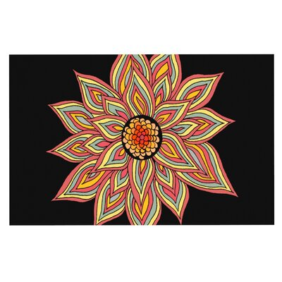 Pom Graphic Design Incandescent Flower Doormat