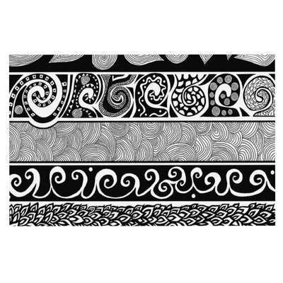 Pom Graphic Design Tribal Evolution Doormat