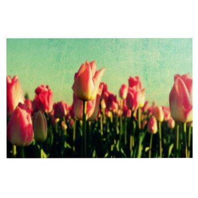 How Does Your Garden Grow by Robin Dickinson Fleece Throw Blanket Size: 60 H x 50 W x 1 D