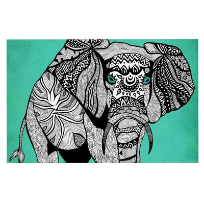 Pom Graphic Design Elephant of Namibia Color Doormat