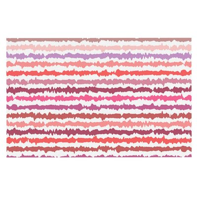 Nandita Singh Blush Striped Doormat